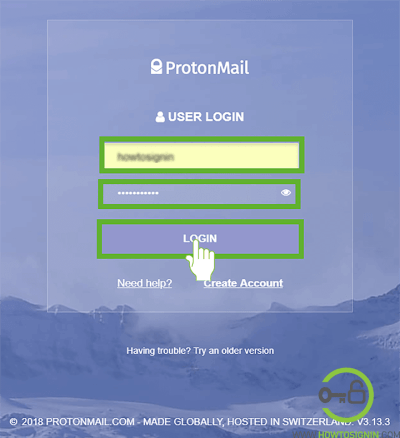 Protonmail sign in