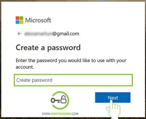 microsoft acount password