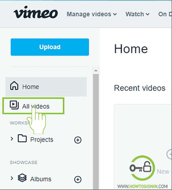 Delete videos from vimeo