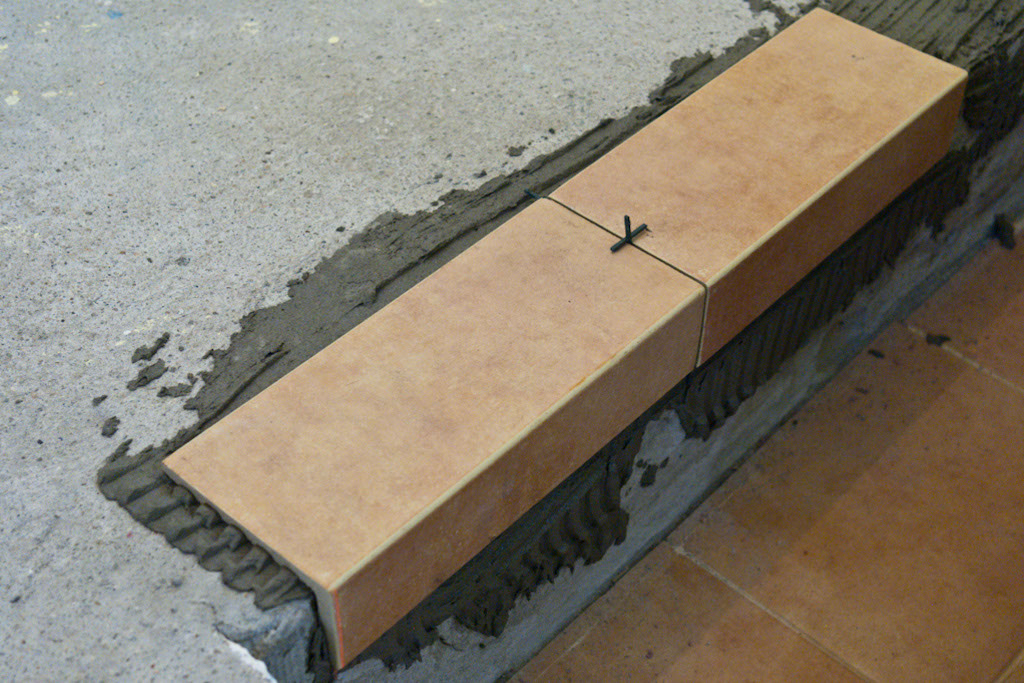 How to tile stairs