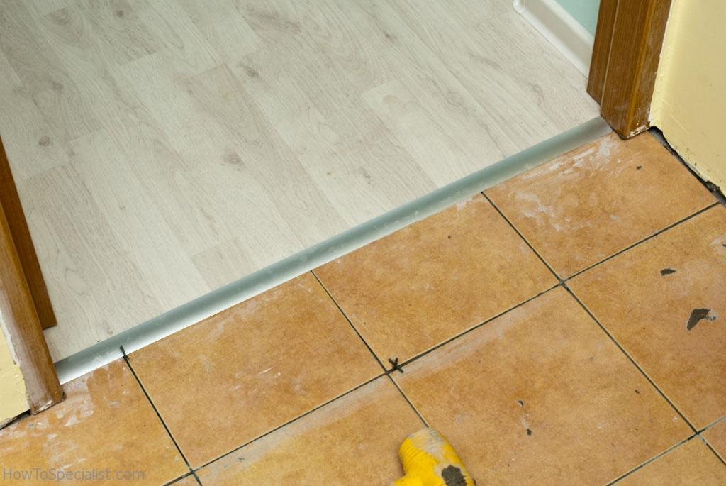 laminate to tile transition
