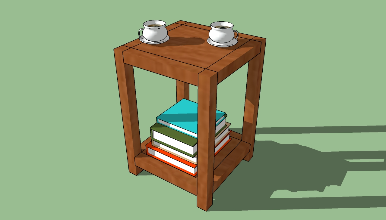 Simple Wooden End Table Plans PDF Woodworking