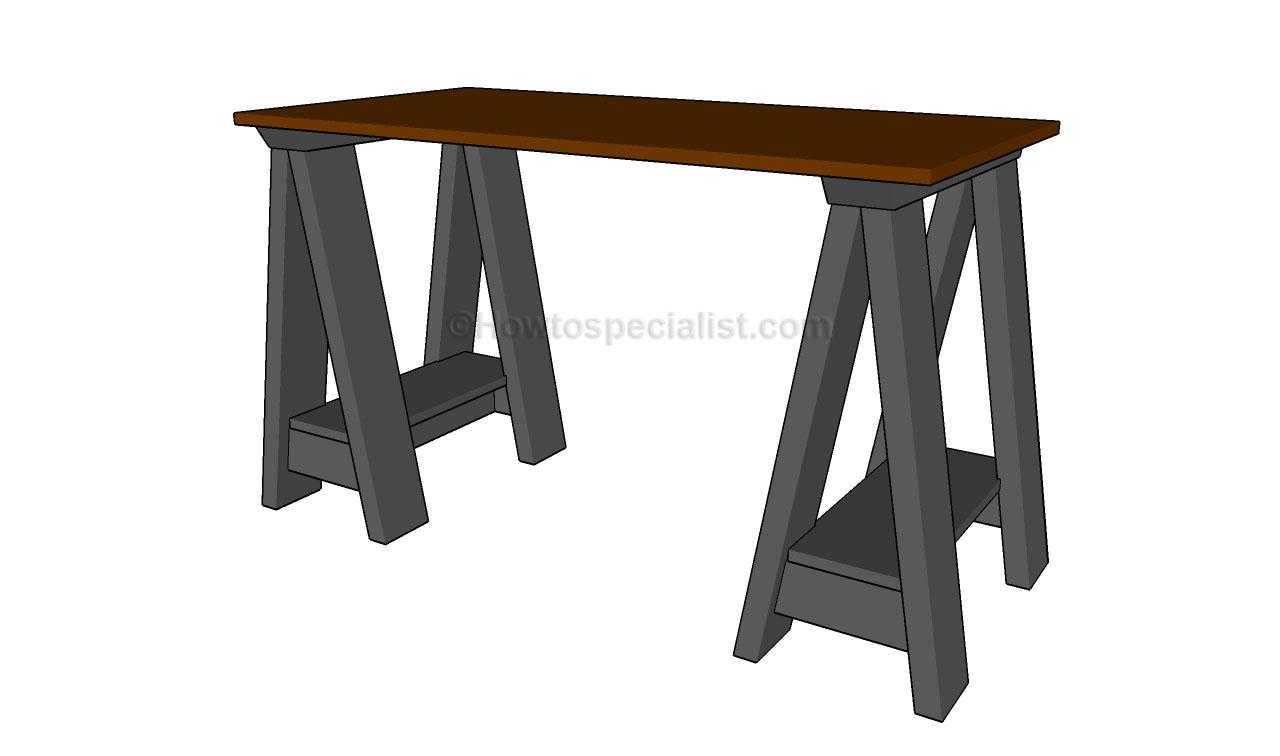 Plans For Building A Computer Desk PDF Woodworking