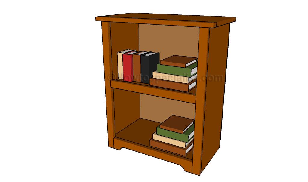 Simple bookshelf plans
