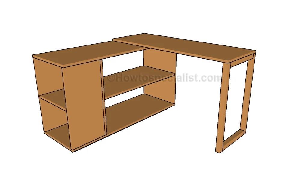 26 Innovative Office Desk Woodworking Plans