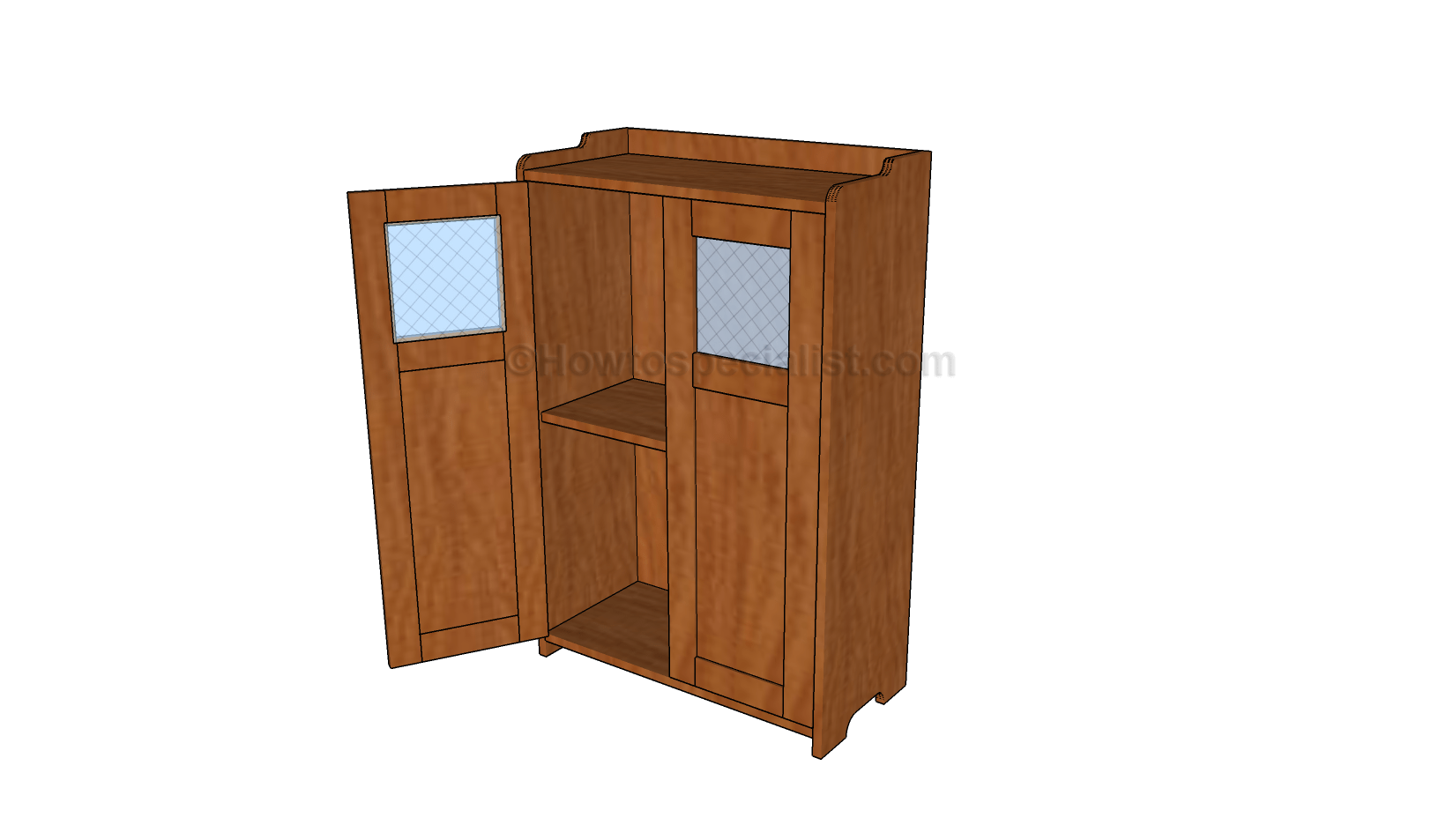 Corner cabinet plans  HowToSpecialist  How to Build