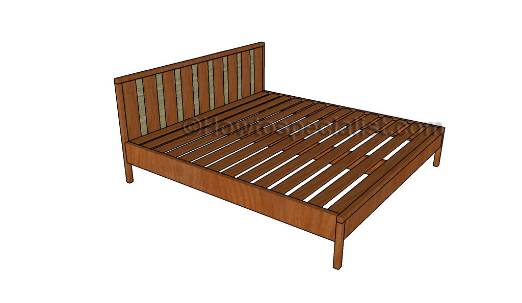 building a platform bed king size new woodworking style