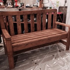 2 X 4 Adirondack Chair Plans Ergonomic Amazon India Diy 2x4 Bench Howtospecialist How To Build Step By