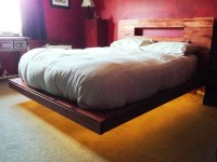 DIY Floating Bed Frame   HowToSpecialist - How to Build ...