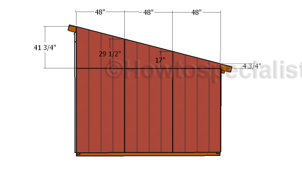 Loafing Shed Roof Plans HowToSpecialist How To Build Step By Step DIY Plans