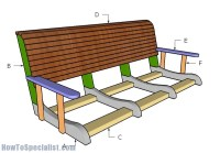 How To Build A Bench Swing - Comfortable Toddler Pallet Bed
