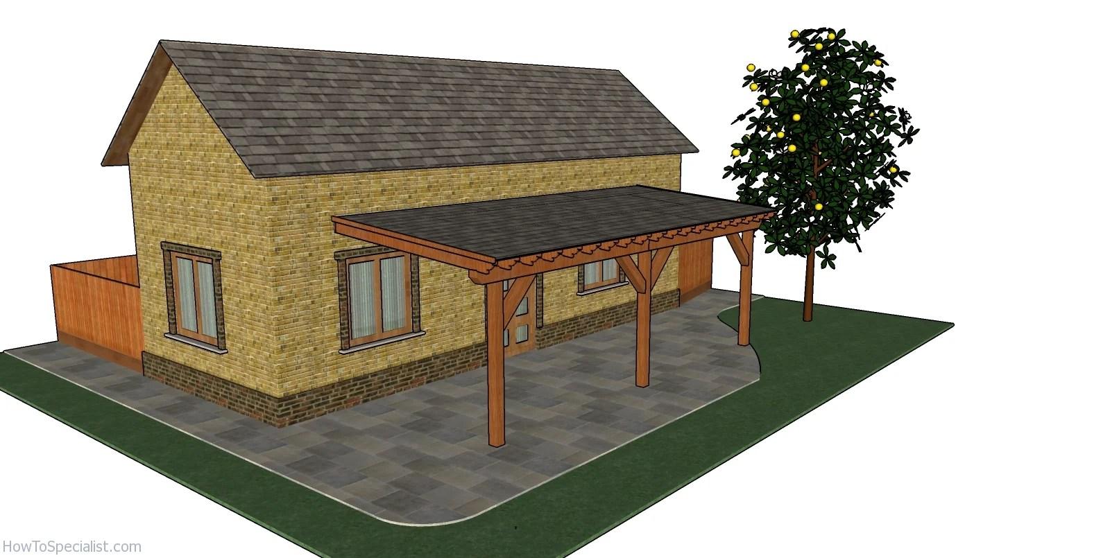 patio cover free diy plans