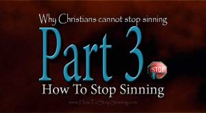 Why Christians cannot stop sining