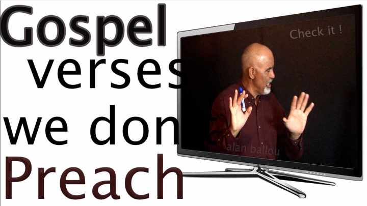 Gospel verses that we don't preach promo picture