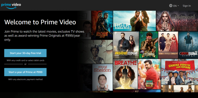 how to download prime video to ipad
