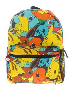 Pokemon 16 Canvas Backpack