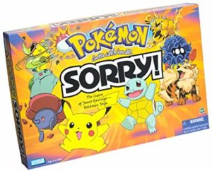 Sorry! Pokemon Gold and Silver Edition