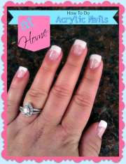 shine nails top