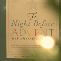 The Night Before Advent Party