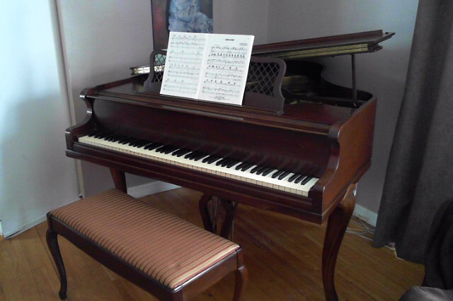 1968 Chickering and Sons Grand Piano For Sale, 5'2″ Only