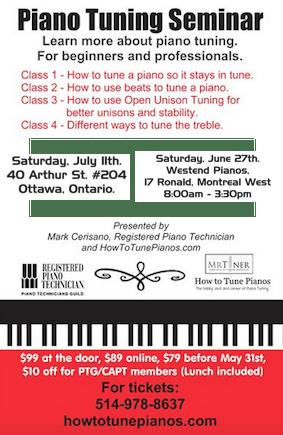 piano tuning seminar