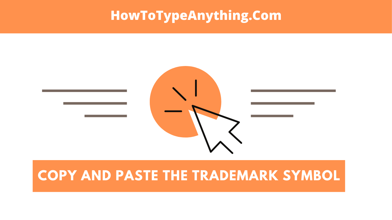 copy trademark (tm) symbol