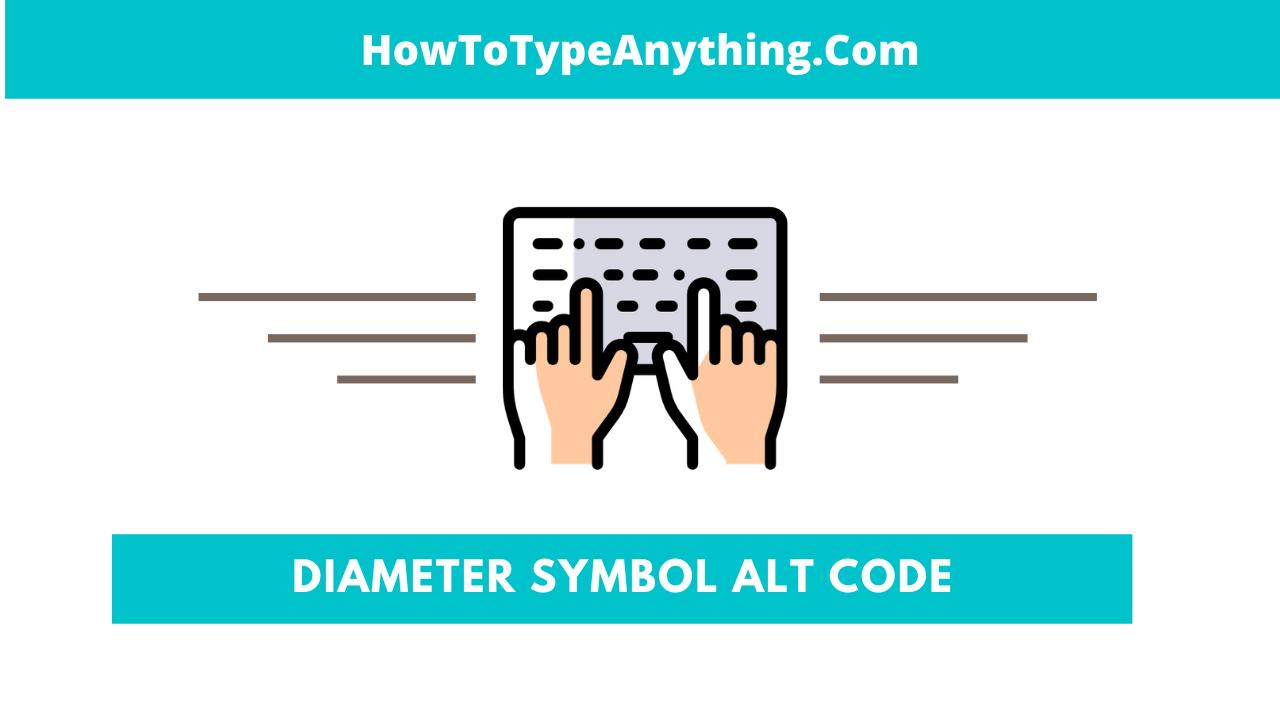 Diameter Alt Code