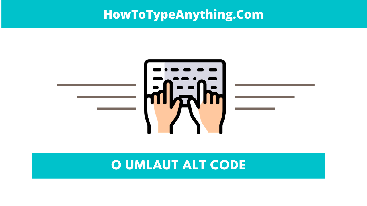 how to type o with two dots with o umlaut alt code
