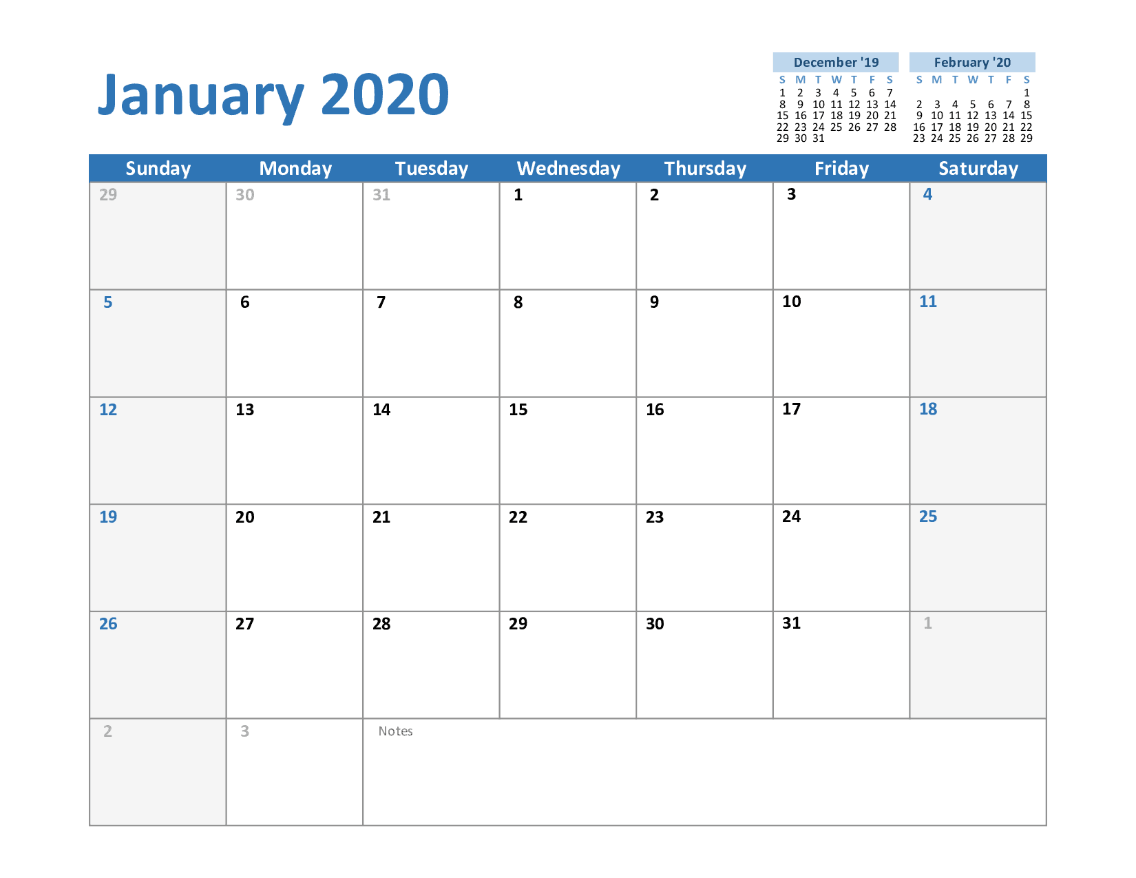 How To Schedule Your Month With January Printable