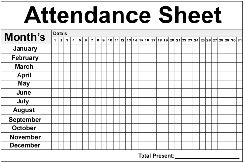 small resolution of Time And Attendance Worksheet   Printable Worksheets and Activities for  Teachers