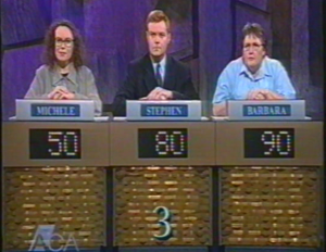 Me on the show in 1999