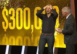 Alex wins the $300,000 on 'Million Dollar Minute'!
