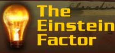 The Einstein Factor logo