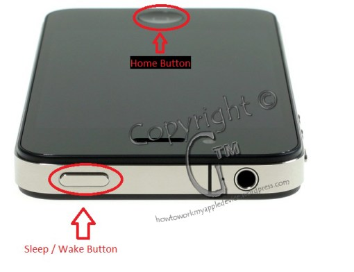 iPhone 4 Sleep / Wake & Home Buttons