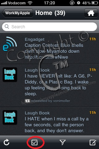 TwitBird To Clear Notifications