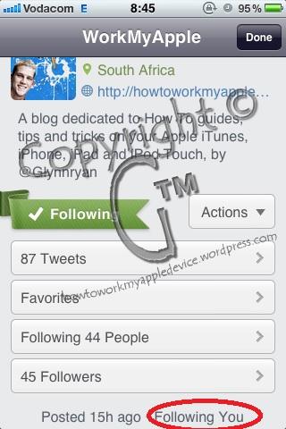 Twitteriffic Work My Apple Device Profile Page Main