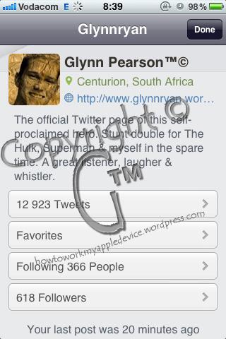 Glynnryan Profile on Twitteriffic