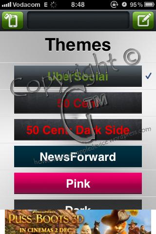 UberSocial Themes