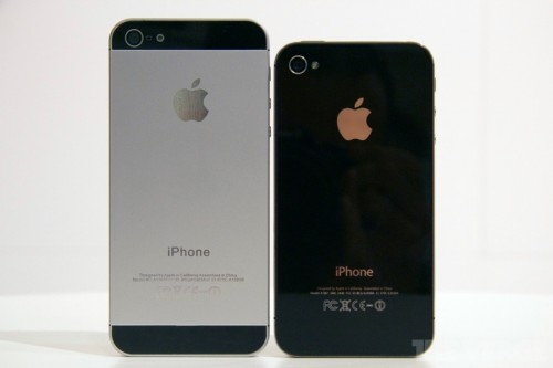iPhone 5 Rear Casing VS iPhone 4S rear