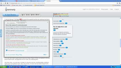 Grammarly Screen Shot 3