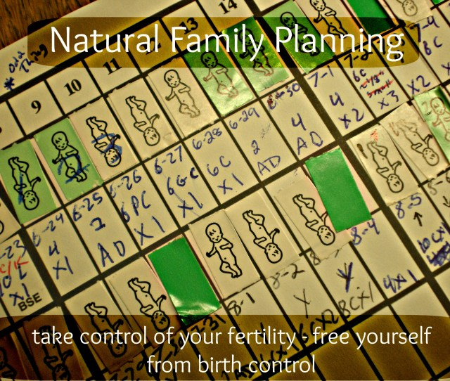 Natural Family Planning Free Yourself From Birth Control Healthy People Healthy Planet