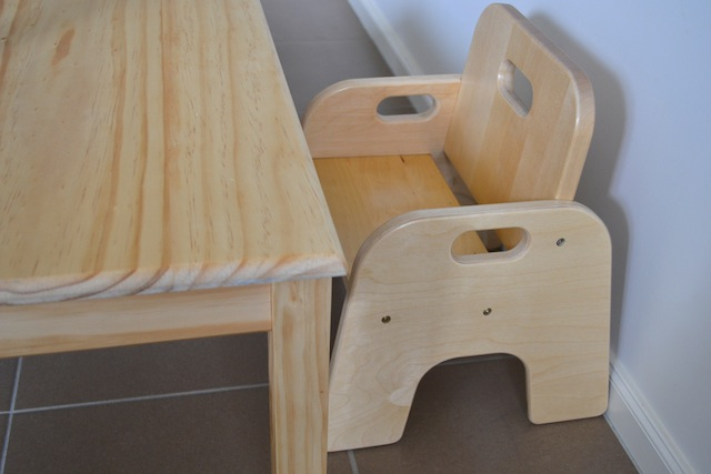 wooden chair with arms for toddler hanging pinterest how we montessori furniture dsc 0035