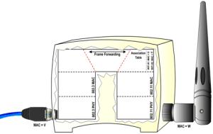 802.11-Frame Forwarding Simulator