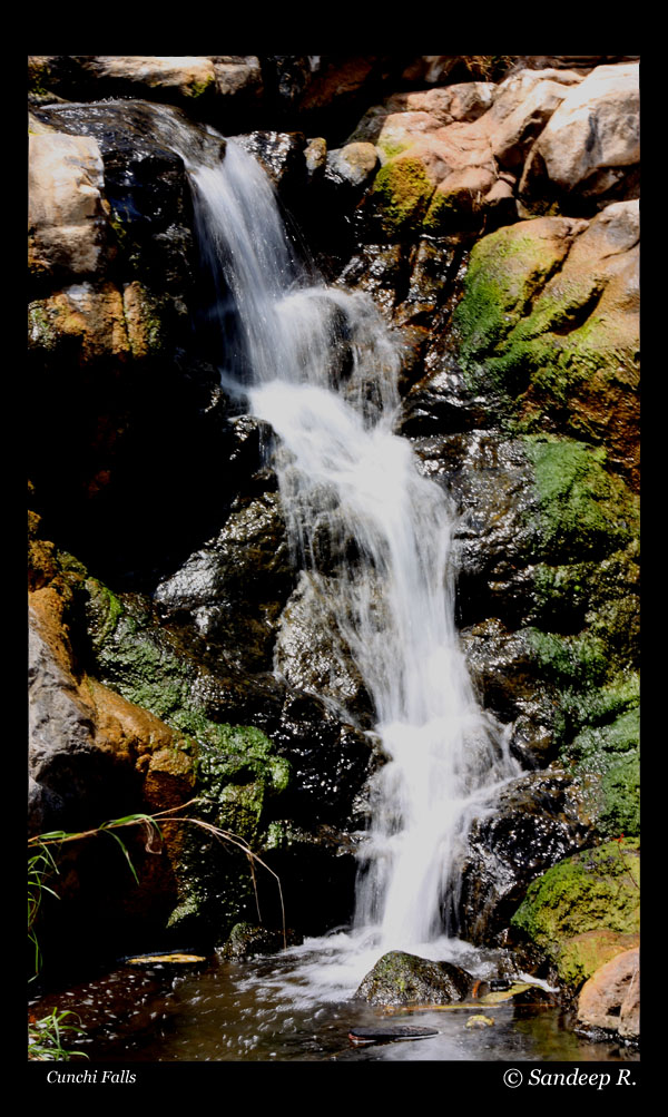 Cunchi falls - one of the trickles