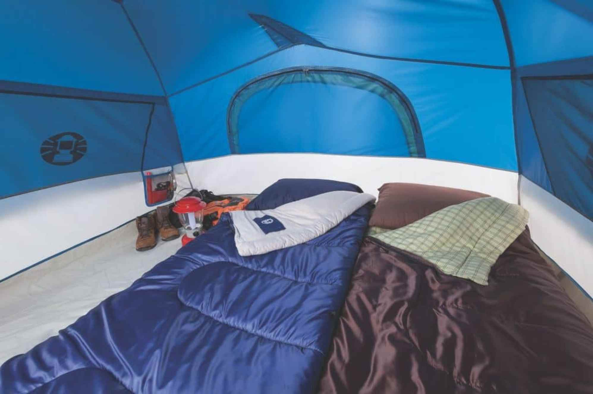 Coleman 4 Person Sundome Tent interior