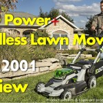 EGO Power Plus Cordless Lawn Mower (LM2001) Review