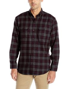 arrow mens long sleeve hunting plaid flannel shirt review
