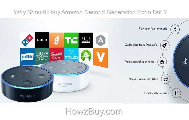 Why Should I buy Amazon Second Generation Echo Dot ?