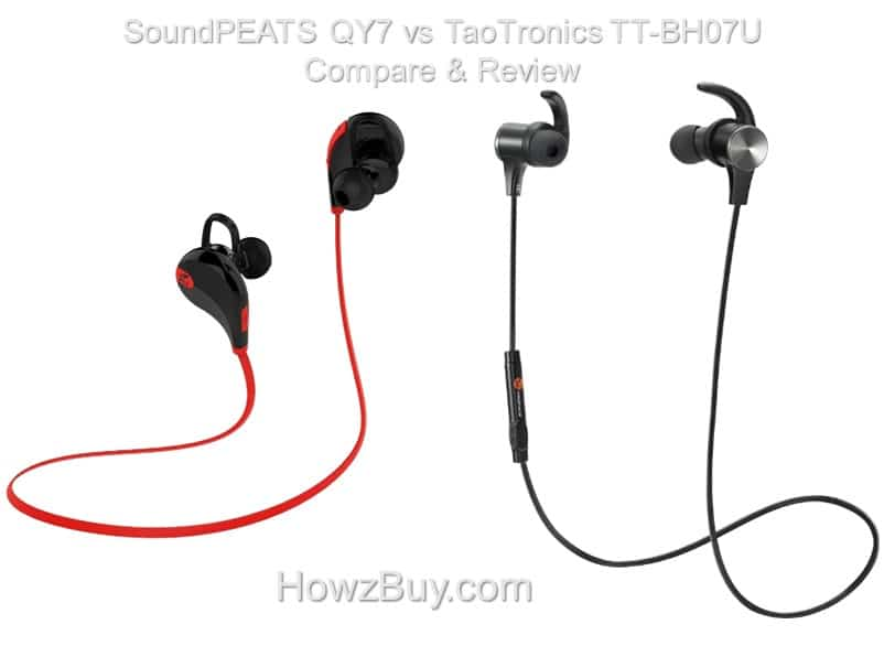 SoundPEATS QY7 vs TaoTronics TT-BH07U Compare & Review