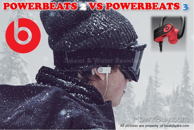 Beats Powerbeats2 vs Powerbeats 3 Wireless Headphones Comparision